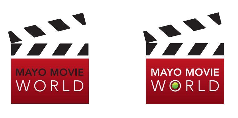 Mayo Movie World Logo Redesign Concept Ideas 2