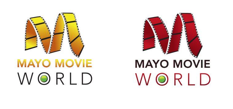 Mayo Movie World Logo Redesign Concept Ideas 4