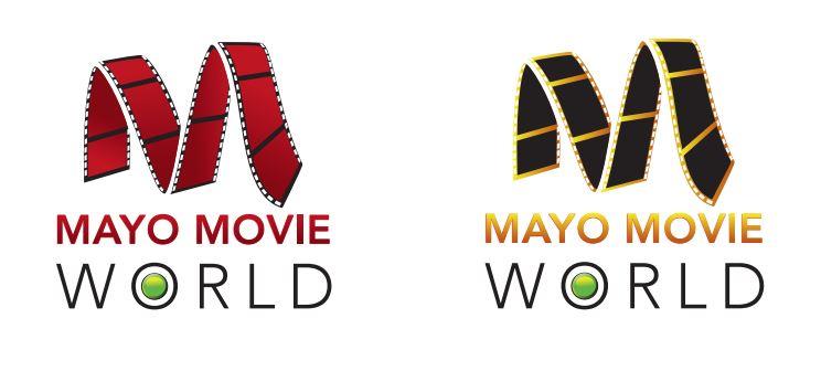 Mayo Movie World Logo Redesign Concept Ideas 5
